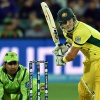 Australia Overcome Middle-Over Pakistani Scare and Set up a Clash with India in the Second Semifinal in Sydney.