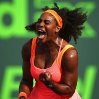 2015 Miami Masters: Serena, Djokovic Win Their Opening Matches On an Action-Filled Saturday
