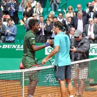 Federer Shocked by Monfils at Monte-Carlo Masters; Djokovic, Nadal Advance
