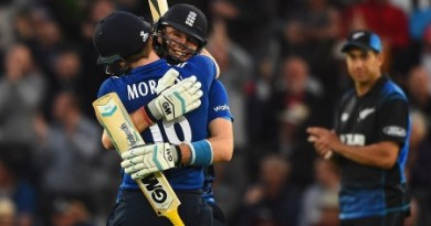 Morgan Leads England