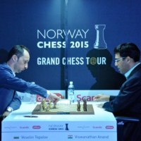 Topalov Tops at Norway Chess after a Quick Draw with Anand in Round-9
