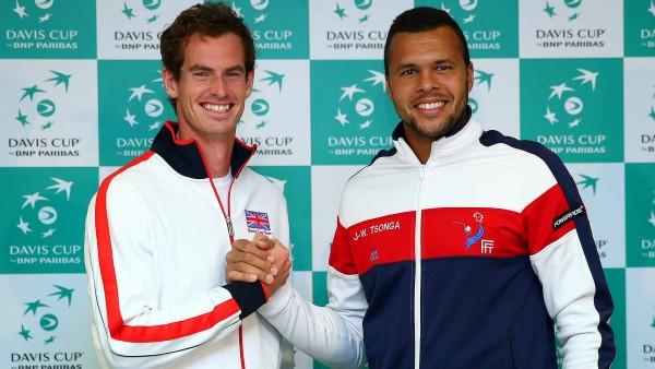 Davis Cup QFs england