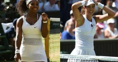Garbine Muguruza Faces Serena Williams