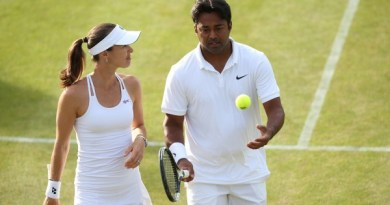 Indians in Doubles Martina Hingis & Leander Paes