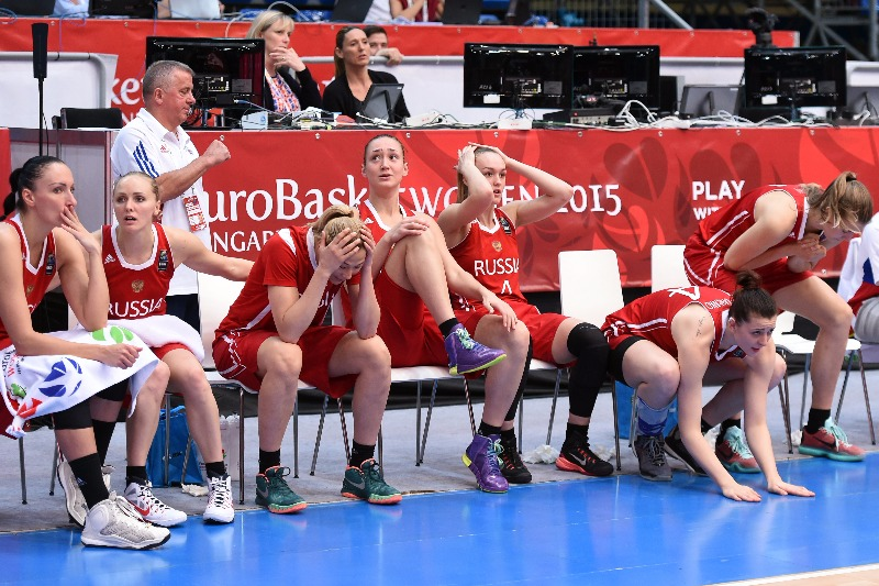 Olympic Qualification System Deprives Russian Women's Basketball Team of Rio 2016 Berth