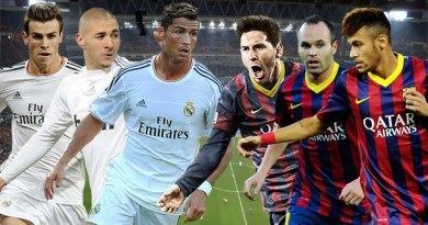 Real Madrid and Barcelona