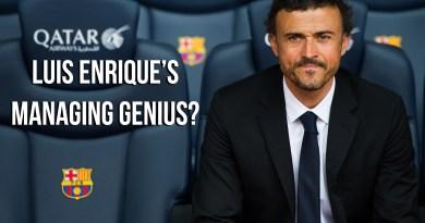 Luis Enrique managing genius
