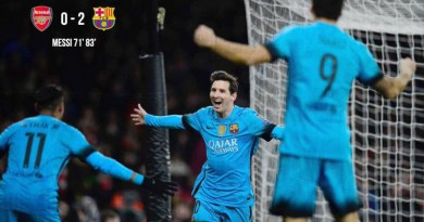 Barcelona bag two away goals