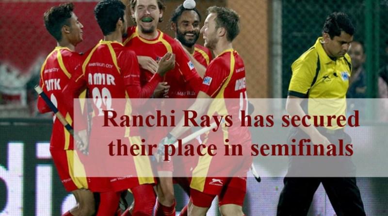 Ranchi Rays Book Semifinal