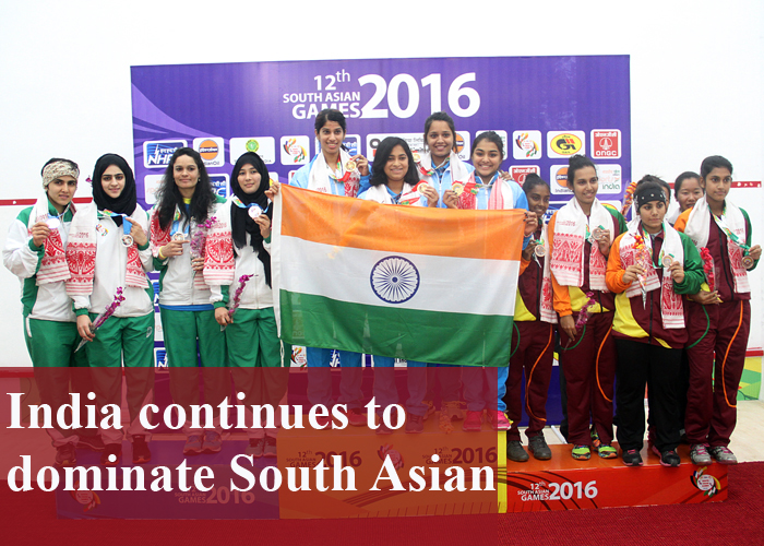 India continues to dominate South Asian Games