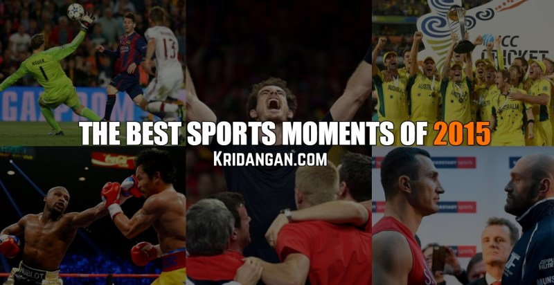 top Sporting Moments of 2015