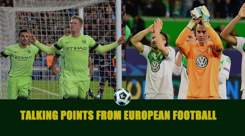 Talking Points from European football