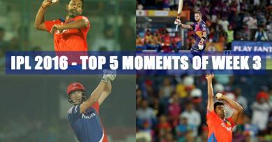 IPL 2016 - Top 5 moments of Week 3