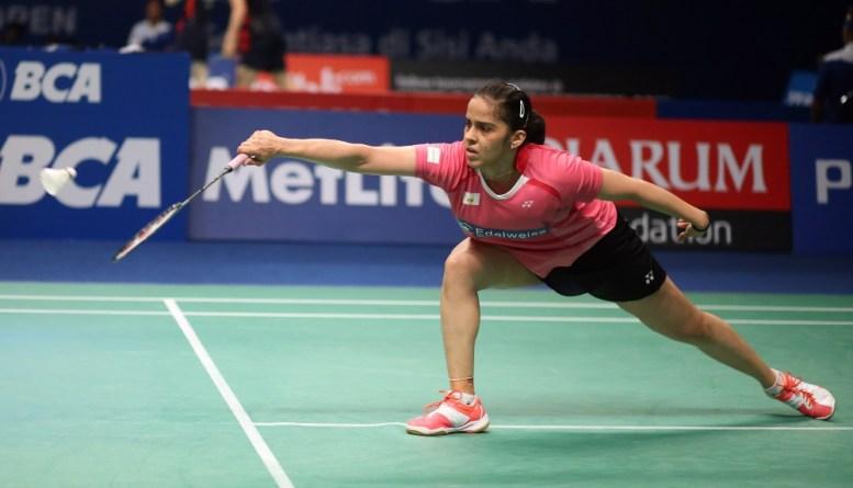 Saina at Indonesia Open