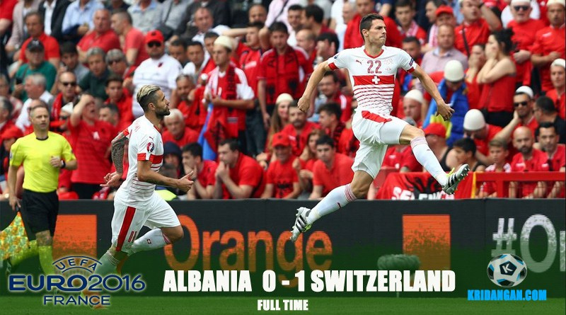 Full-time! Albania 0-1 Switzerland