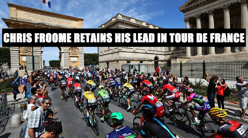 Chris Froome Retains His Lead in Tour de France 12 stage