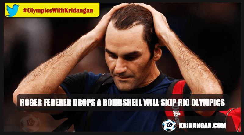 Roger Federer Drops