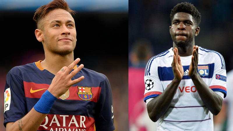 Transfer News - Barcelona Signs Samuel umtiti, Neymar Signs new contract