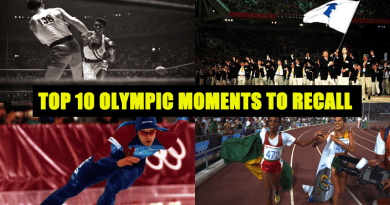 Top 10 OLYMPIC MOMENTS TO RECALL