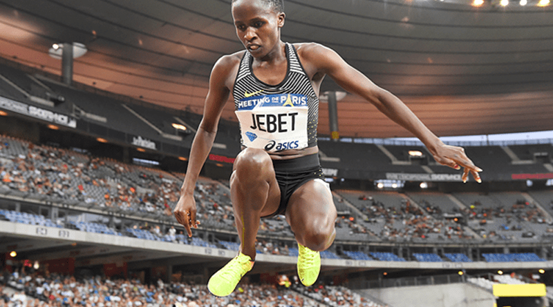 Ruth Jebet 3000m Steeplechase Womens World Record copy