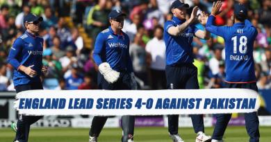 England v Pakistan series