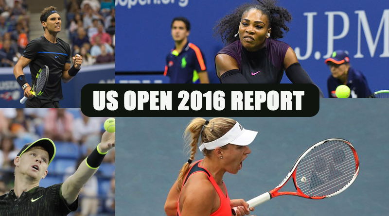 Progress report US open 2016