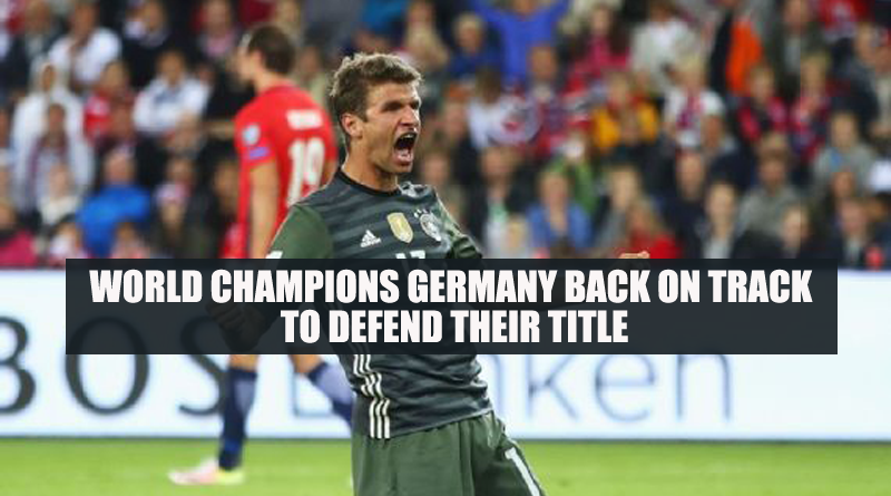 World Champions Germany back on track to defend their title