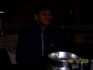 Dining at Hubli