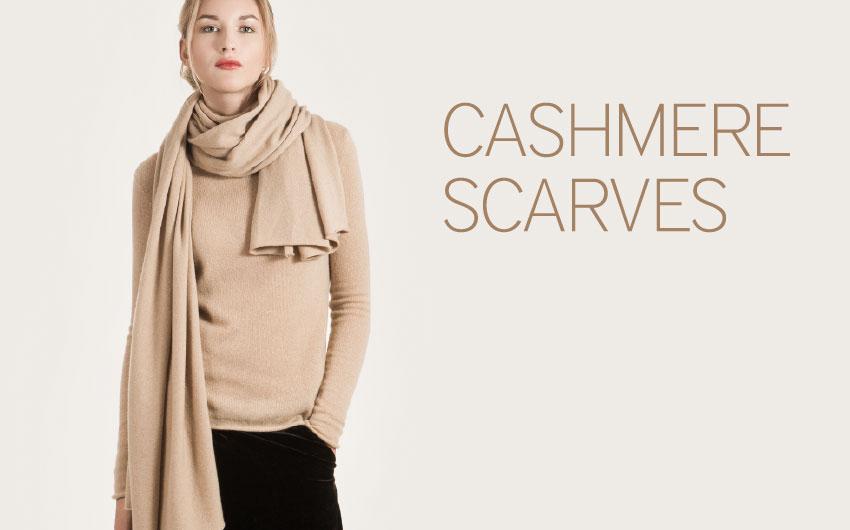 Cashmere scarves by Krista Elsta Knitwear