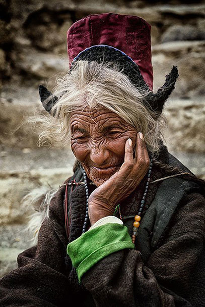 Ladakhi-Tribe,-North-India,-Ladakh,-Leh-Kashmir-Matjaz-Krivic