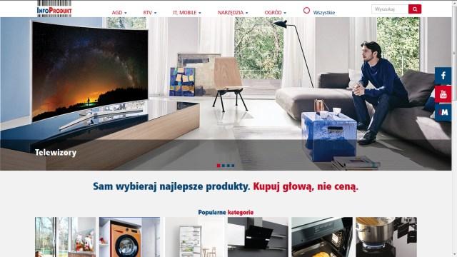Info Produkt homepage