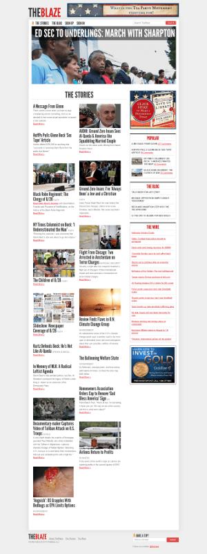 The Blaze - Glenn Beck's New Conservative Website
