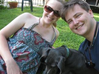 All three at the lake