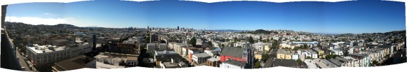 Beautiful view of San Francisco