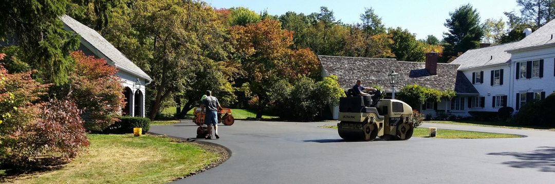 Krukoff Excavation and Paving, Inc., driveway repair and driveway paving in northeastern CT