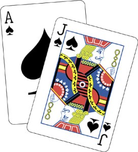 blackjack liczenie kart