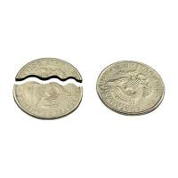 видео уроки фокусов с исчезновением монеты