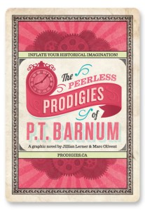 The Peerless Prodigies of P.T. Barnum.  Click here to buy it!