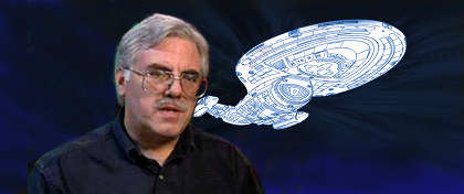Rick Sternbach, famed Star Trek illustrator and designer