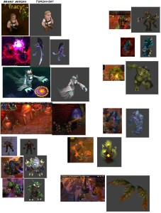 """Armed Heroes"" and ""Torchlight"" asset similarities"