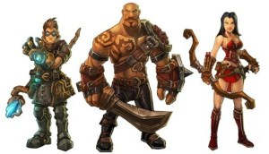 Characters from Runic Games' 'TORCHLIGHT'