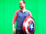 The Avengers (2012)Director Joss Whedon on set