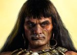 In 2010, Warner Bros Studios was working on a Conan reboot - this might have been the face you saw if they'd succeeded.