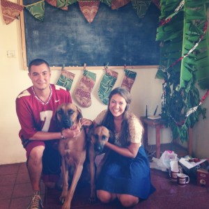 Merry Christmas from Marco, Samson, Ruby & me!