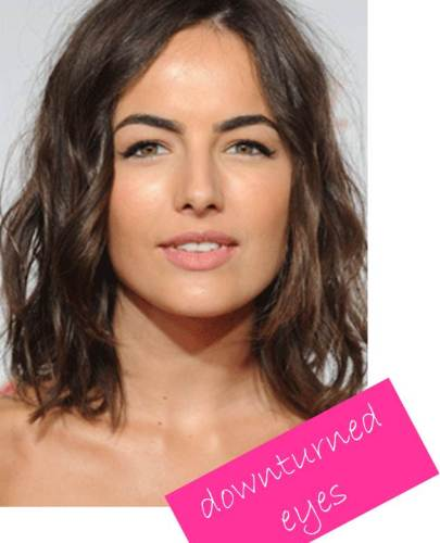 camilla belle downturned