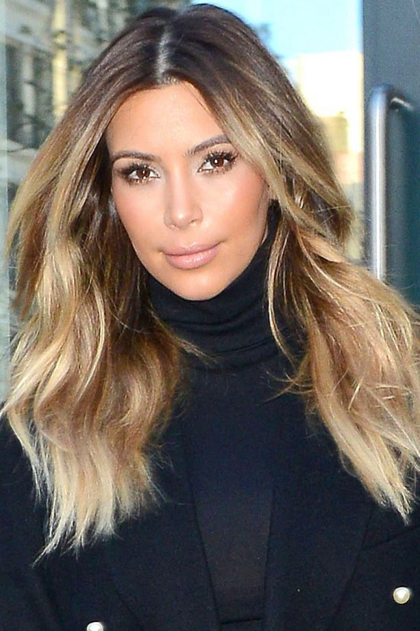 Ombre Hair Looks That Our Favourite Celebrities Love ombre hair Kim Kardashian