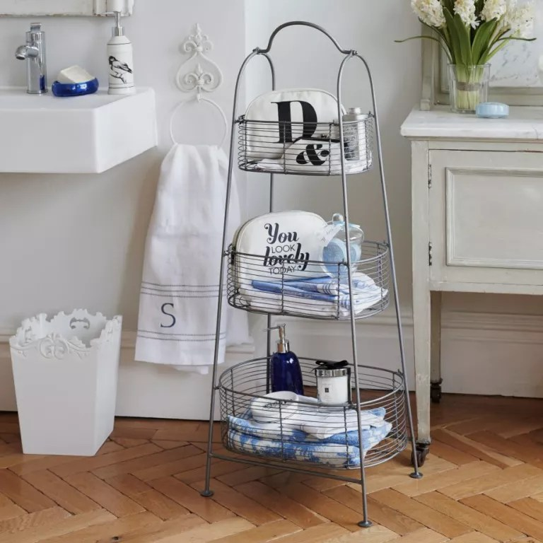 Large Of Bathroom Shelving Solutions