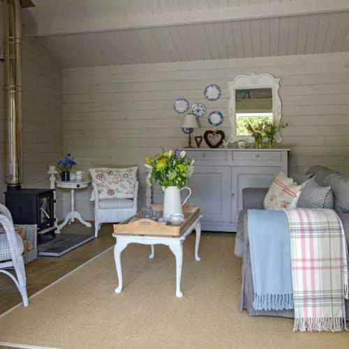 Medium Of Log Cabin Interiors