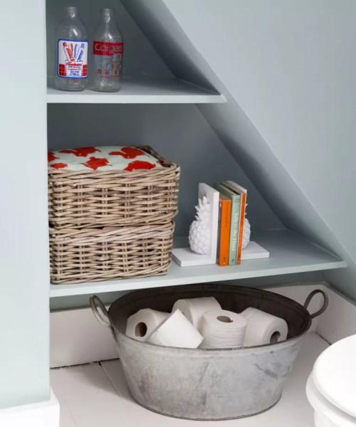 Medium Of Shelf Ideas For Bathroom
