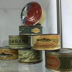 Sowjetische Konservendosen